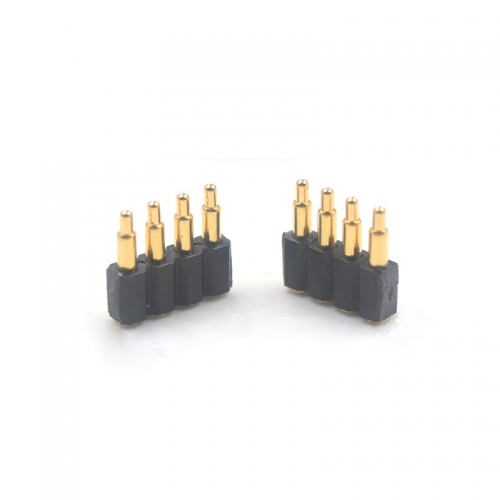 2.54 mm pitch SMT spring loaded electrical connectors