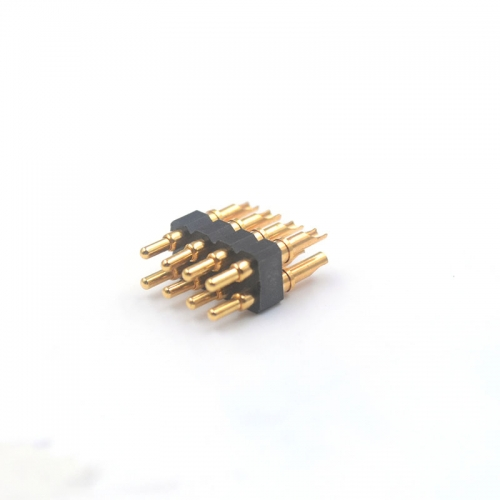 2.54 mm pitch solder cup spring loaded contacts connector