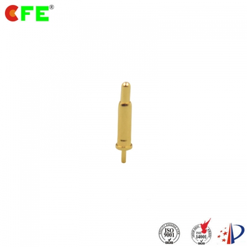 DIP through hole spring loaded connector pins