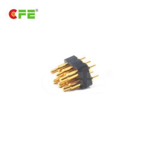 2.54 mm pitch spring loaded pcb pin connector