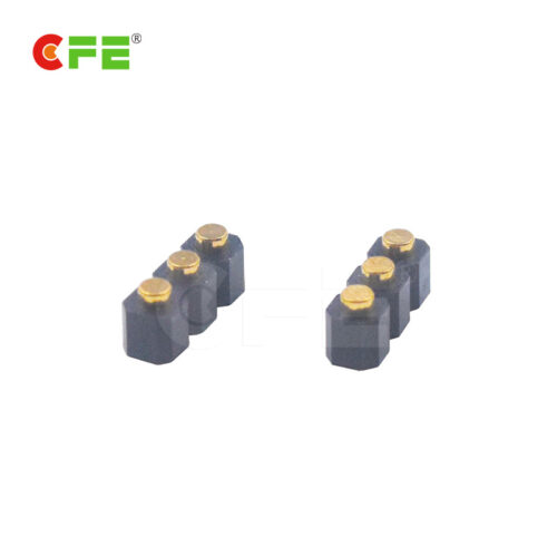 2.54mm pitch 3 pin female connectors for spring probe FF400-1140-A03100A-02