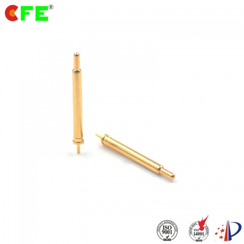 Large spring contact probes pogo pins