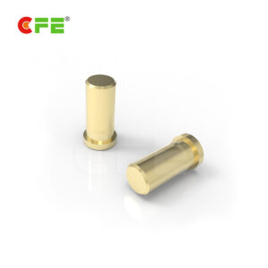 Spring loaded female terminal pins supplier. The spring loaded connetor pins consist of a plunger (or head), barrel (or body), and a fully encapsulated fine spring. The plunger and barrel is brass Au over Ni material and the spring is sus surface treatment, providing the spring force required to maintain positive contact. All have a high durability, exceeding 10,000 mating cycles.