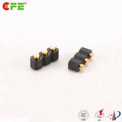 2.54mm pitch 3 pin female connectors for spring probe