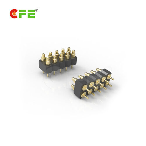 DIP spring loaded pcb test pins connector