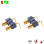 [BP84331-02254A0C] 2.54mm pitch right angle spring loaded probe pin connector
