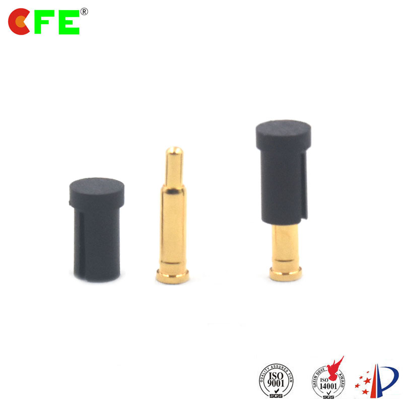 2 54 Mm Pitch Spring Loaded Electrical Contacts Connector