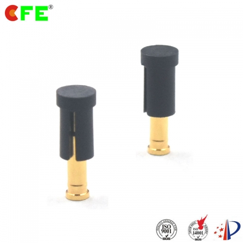 2.54 mm pitch spring loaded electrical contacts connector