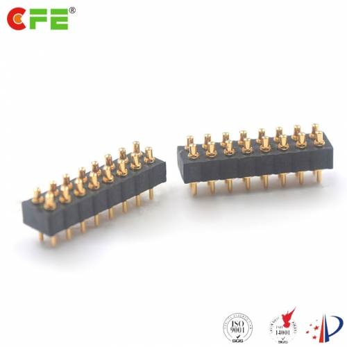 2.0 mm pitch DIP through hole pogo pin connector suppliers