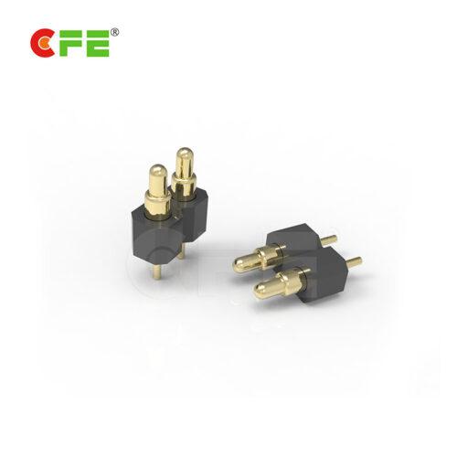 DIP spring pogo electrical contact pins connector