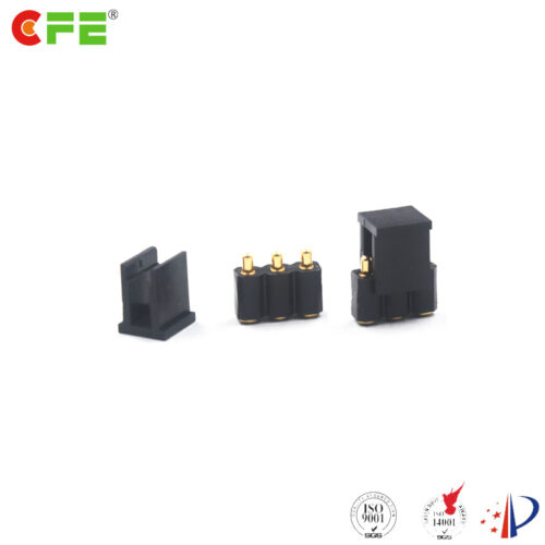 Pcb spring contacts pogo pin connector