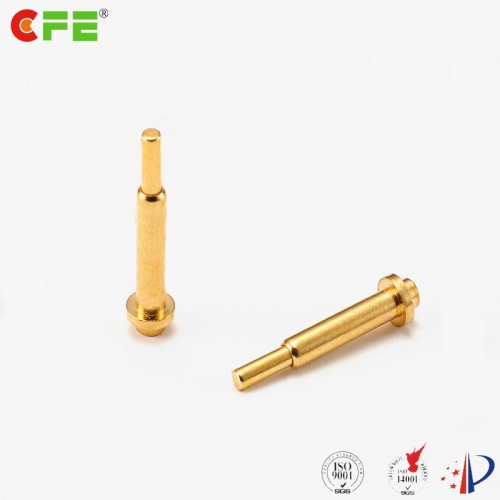 Through hole type pogo pins contacts manufacturer