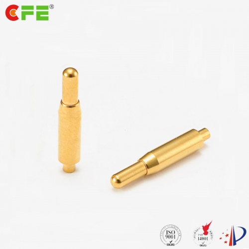 Pogo electrical contact through hole DIP type