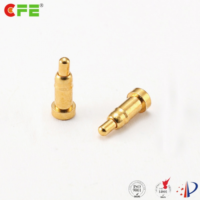 2a smd pogo pin spring loaded contact gold plating