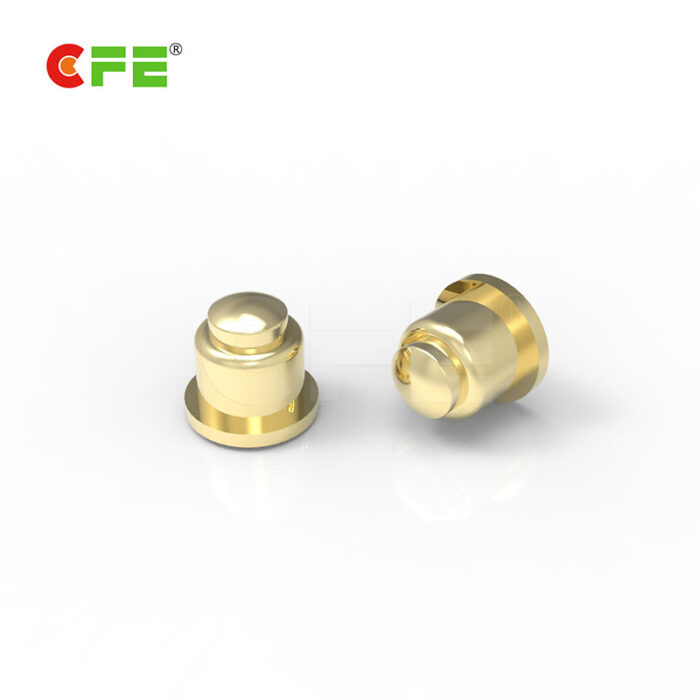 SMT SMD low profile spring load contact