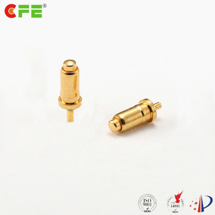 Spring loaded contact pogo pin 1a through hole type manufacturer