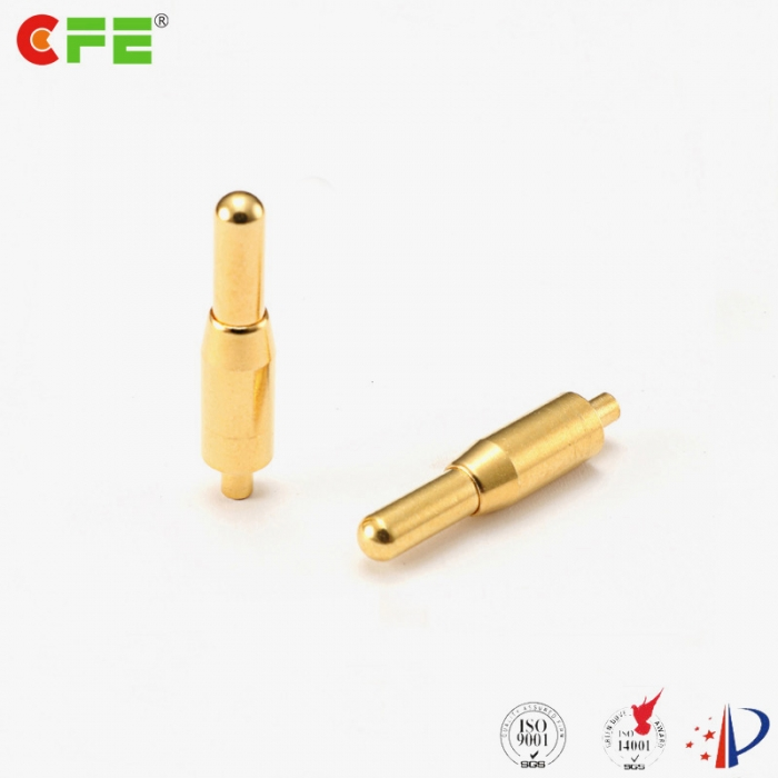 Spring loaded pins through hole type manufacturer - CFE Pogo Pin