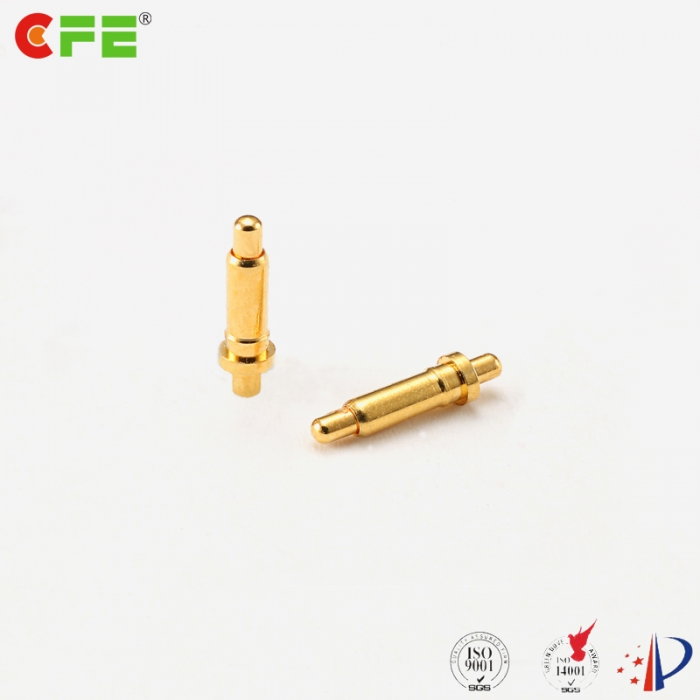 1a double head spring loaded contacts
