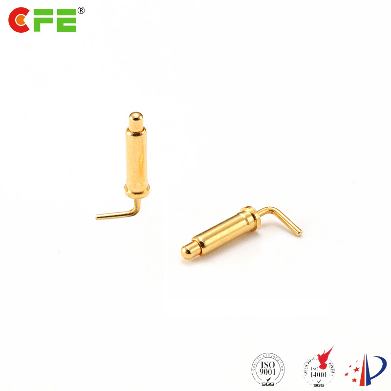 5a right angle pogo pin spring loaded contact