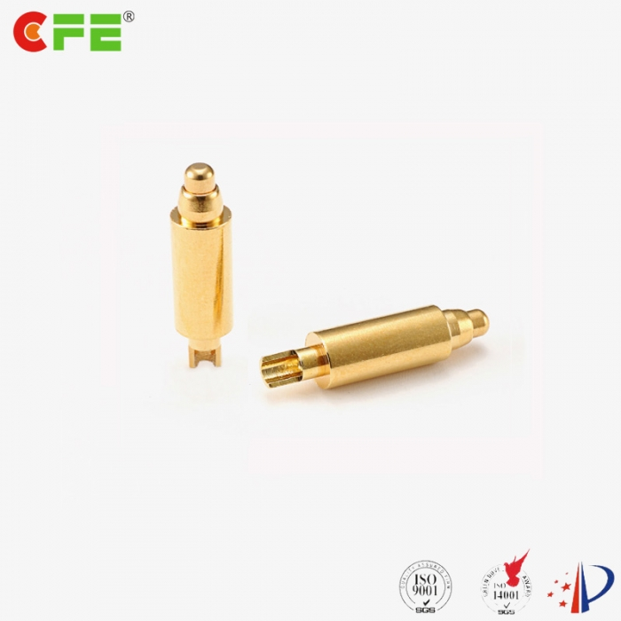 9a high current pogo pin spring loaded contact