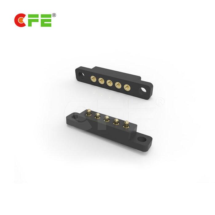 Custom 5 pin pogo connector supplier China