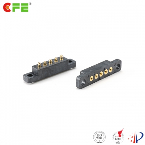 Custom 5 pin pogo connector supplier China