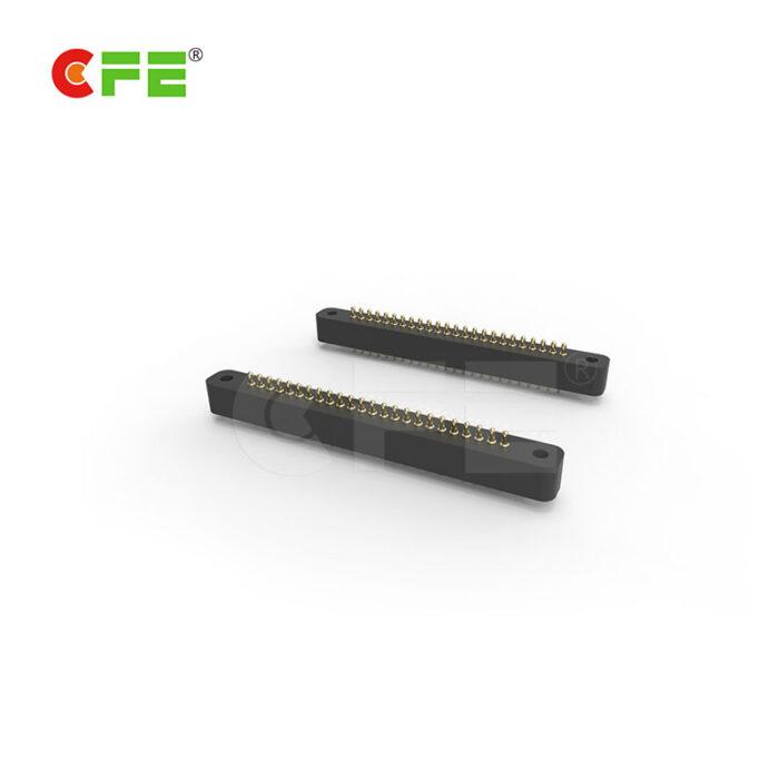 24 pin single row DIP pogo pin connector