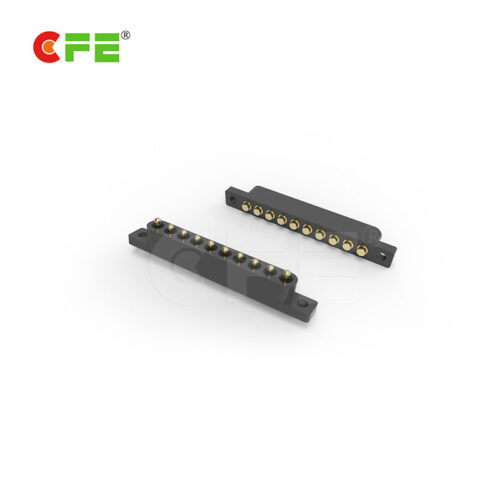 10 pin smt smd pogo pin spring connector
