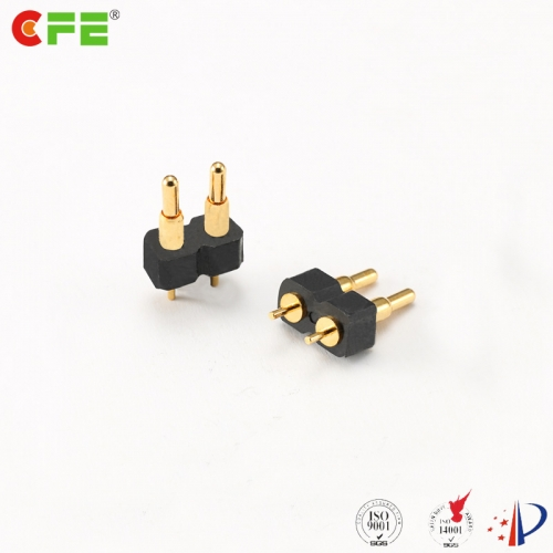 2.54 mm pitch 5a pogo pin electrical spring connector
