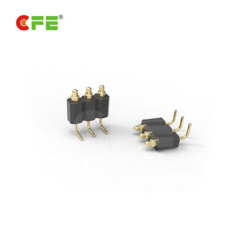 2.54 mm pich right angle pogo pin connector supplier