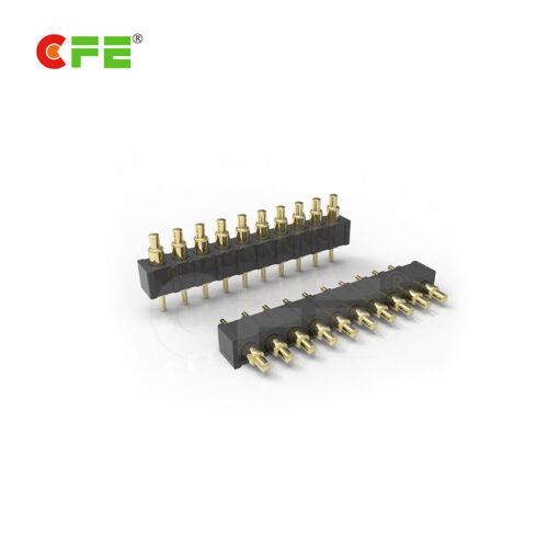 2.0mm DIP single row 10 pin pogo pin connector supply