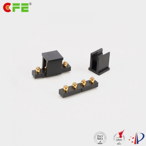 Custom 4 pin DIP pogo pin connector manufacturer