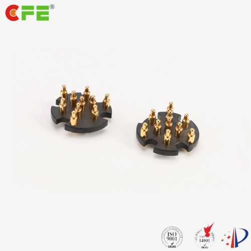 Custom 10 pin SMD spring Pogo pin connector supply