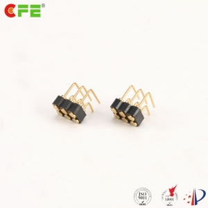 2.54mm pitch right angle 6 pin female pin connector