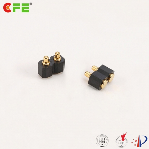 2.54mm pitch SMT 2 pin pogo pin spring connector