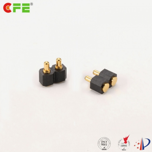 2.54mm pogo pin spring 2 pin smd connector supply
