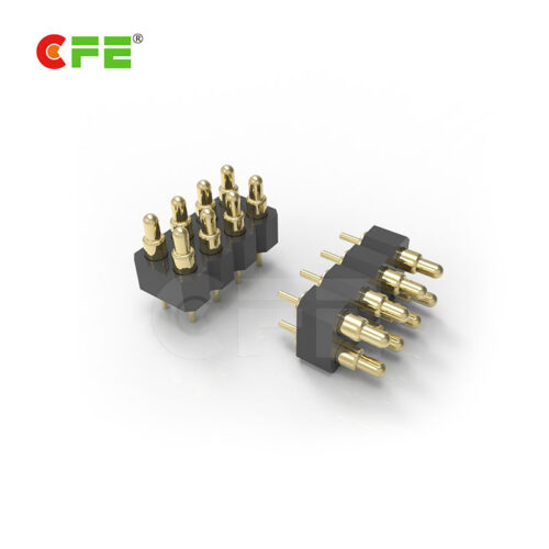 2.54mm DIP pogo pin spring electrical connectors