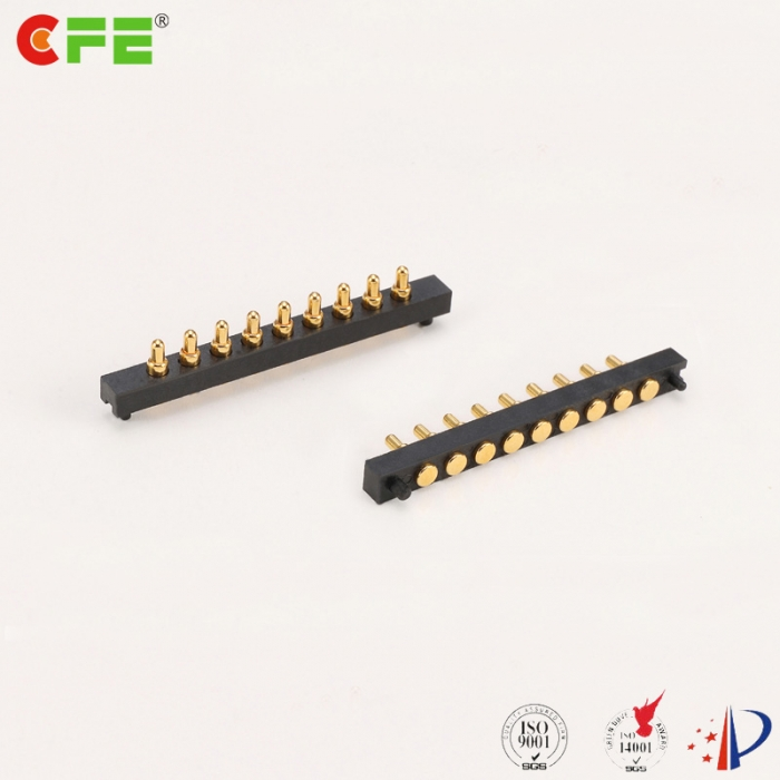 9 pin SMT SMD customized pogo pin China - CFE spring loaded contact