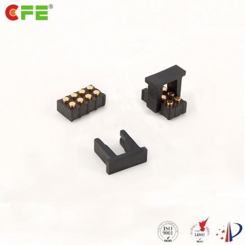 2.54mm 8 pin smt female header pogo pin made in china