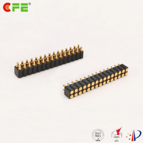 2.54mm pitch 30 pin SMT pogo pin connector supplier