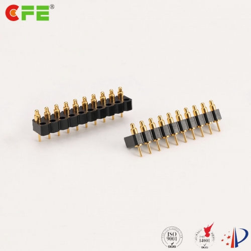 10 pin spring-loaded pogo pins factory - CFE Pogo pin connectors supplier