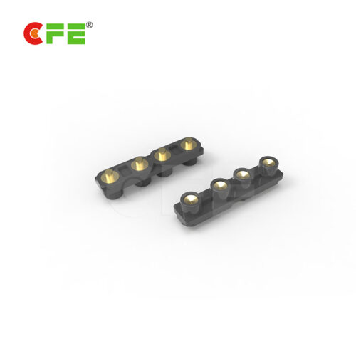 4 pin customized pogo pin receptacles - CFE Pogo pin connectors supplier