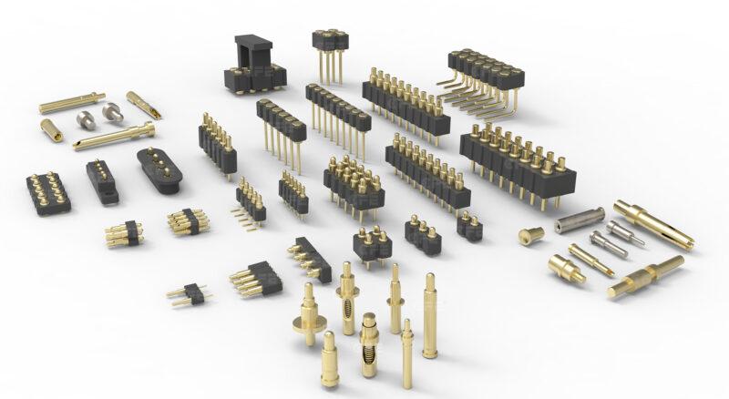 Custom Pogo Pin Connector process at CFE