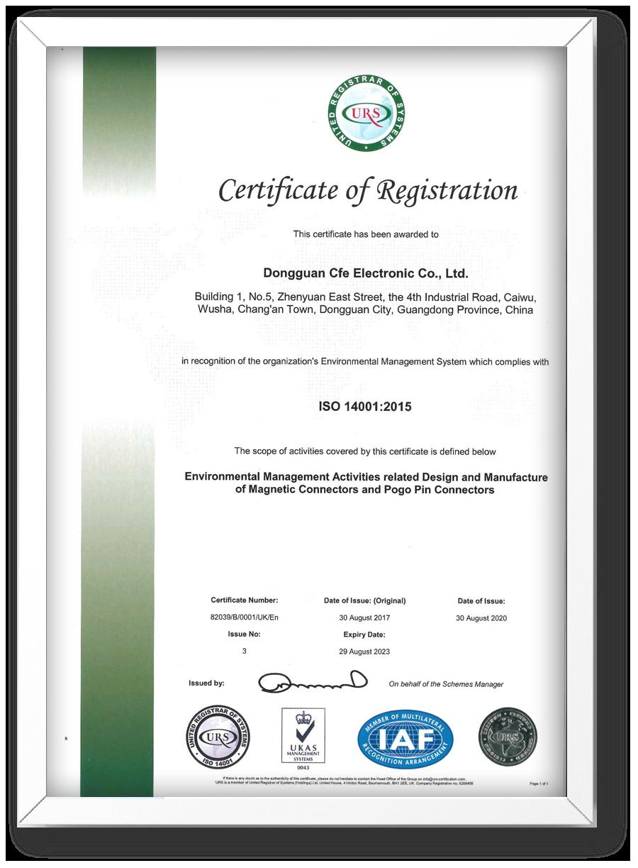 CFE- ISO 14001