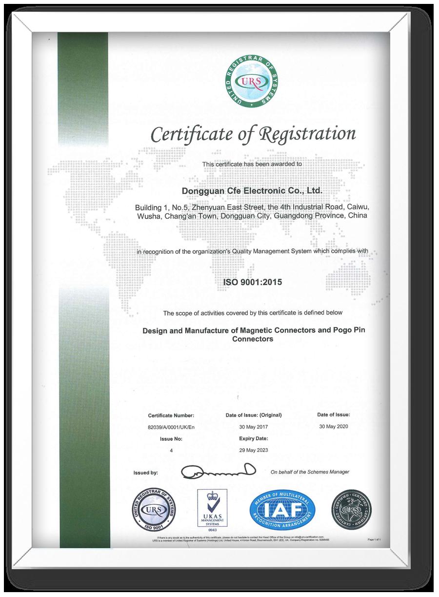 CFE-ISO 9001: 2015