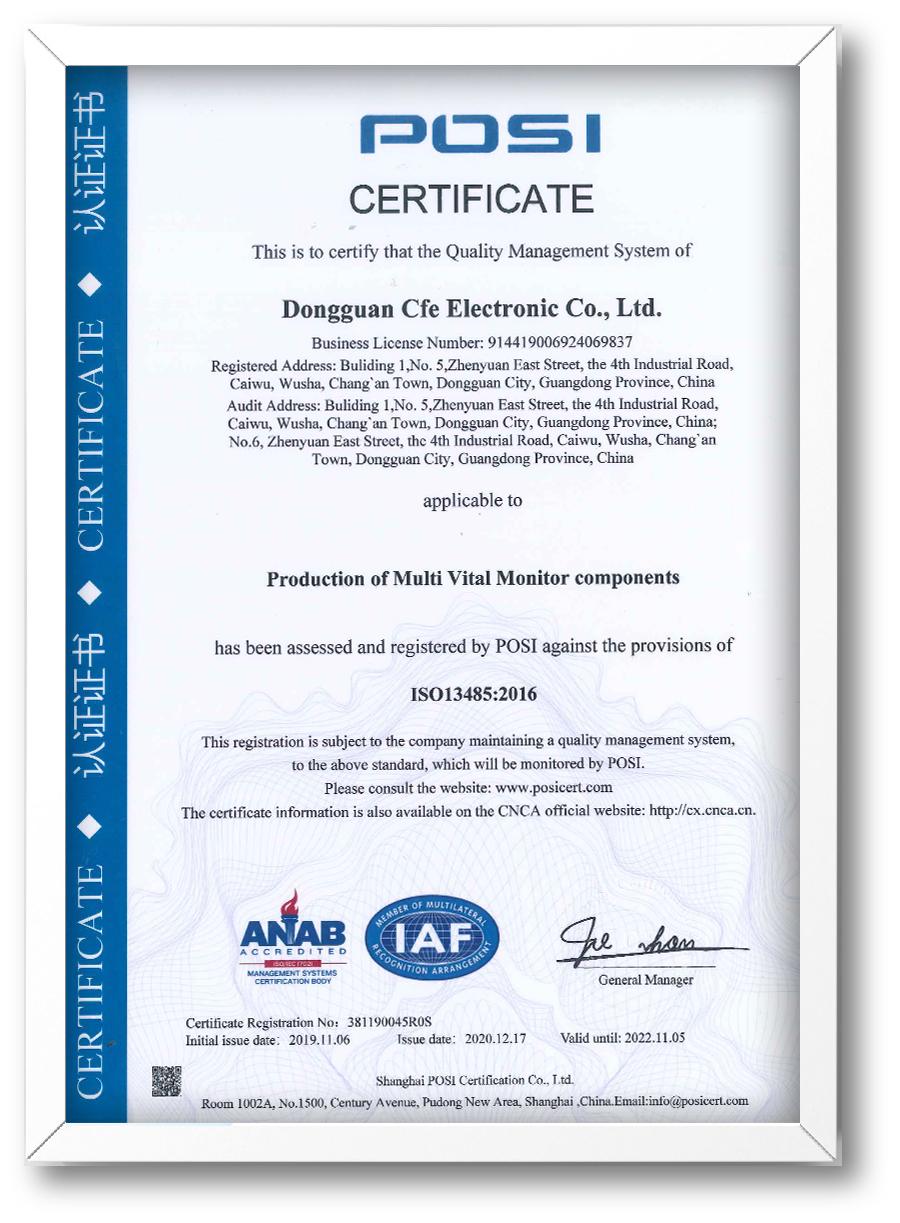 CFE-ISO13485:2016