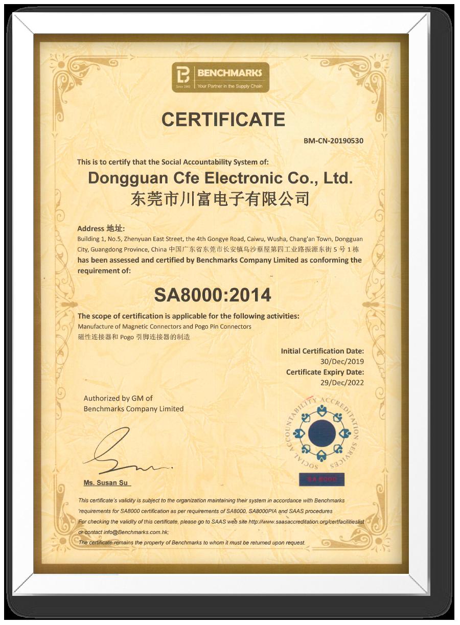 CFE - SA8000 2014