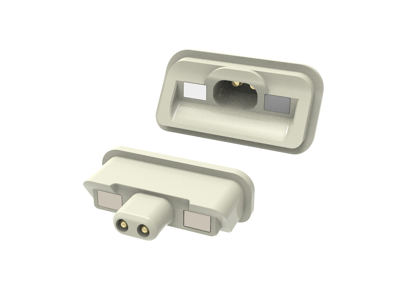 pogo pin magnetic charging solutions for medical devices