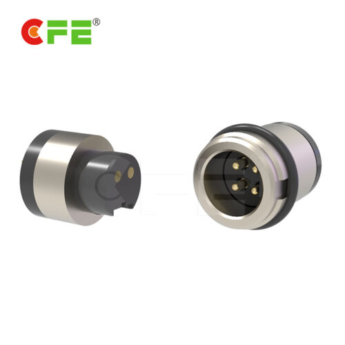 4 Pin Male and female magnetic pogo connector