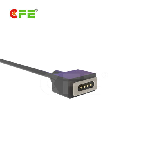 4 pin male female magnetic cable connector for children's toy